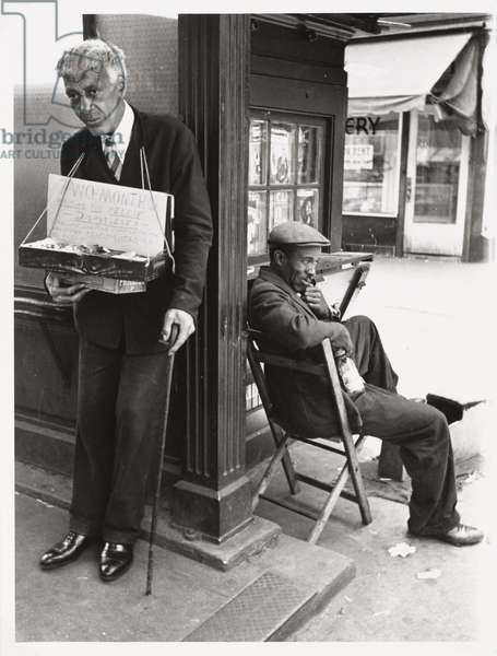 Harlem Unemployed I, 1936 (gelatin silver print)