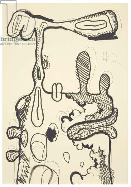 #2, 1993 (offset litho on Japico ivory paper)