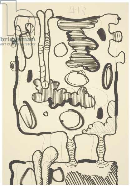 #13, 1993 (offset litho on Japico ivory paper)