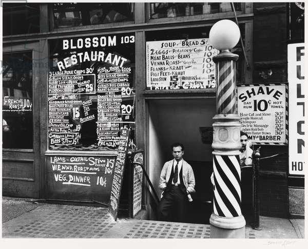 Blossom Restaurant, neg. 1935, print 1979 (gelatin silver print)