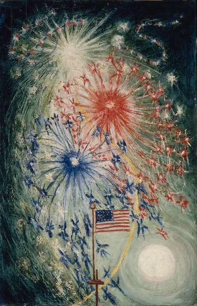 Fourth of July Number 1, 1927 (oil on canvas)