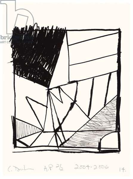 Untitled (14), 2004-06 (litho on Fabriano Esportazione paper)