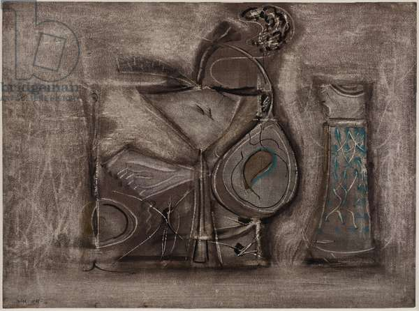 Untitled [Votive Mood] (recto), c.1946 (w/c & gouache on wove paper)
