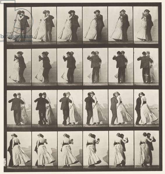 Plate 197. Dancing Waltz, Two Models, 1885 (collotype on paper)
