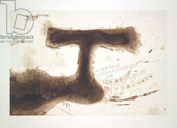 Untitled, 1988-89 (colour intaglio on Arches En-tout-cas paper)