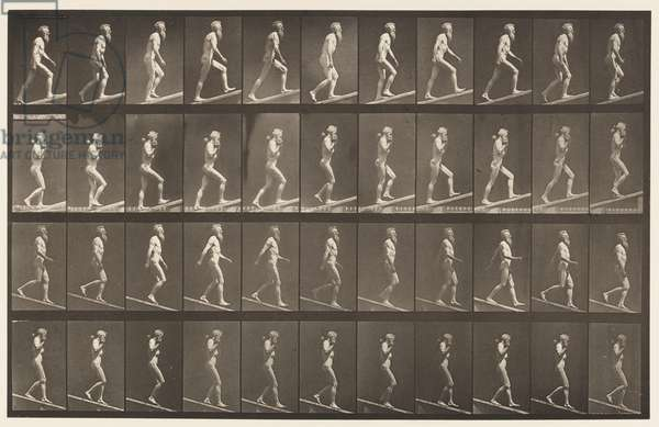 Plate 489. A, Ascending Incline, 1872-85 (collotype on paper)