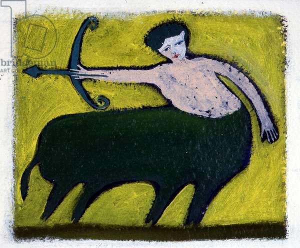Horoscope illustrated by Patrizia La Porta.