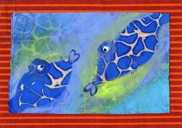 Zodiac sign: fish.