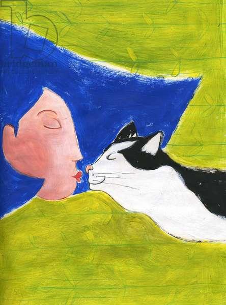 Love for pets Illustration 2013