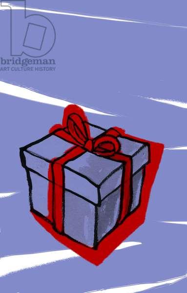 Still Life Gift (A present, gift) Illustration 2013