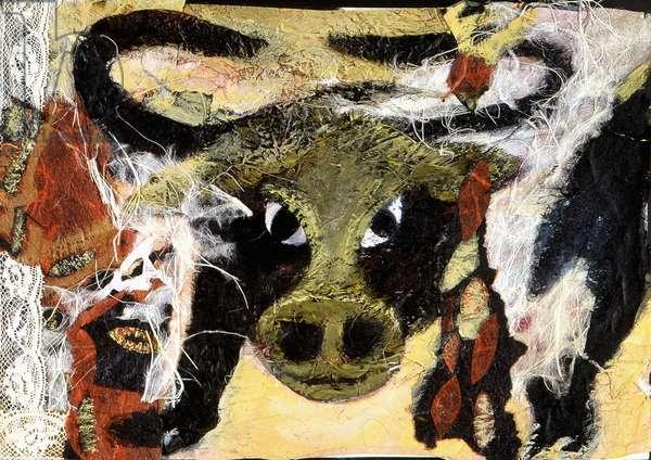 Sign of the Taurus. Horoscope illustrated by Patrizia La Porta, 2004.