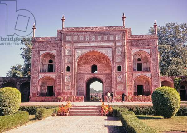 Gateway to Jahangir's Tomb, Lahore, Pakistan, 1969 (photo)