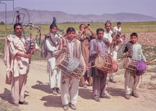 Muslim village wedding, Pakistan, 1969 (photo)