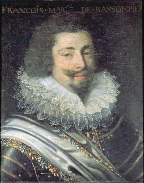 Portrait of Francois de Bassompierre (1579-1646) (oil on canvas)
