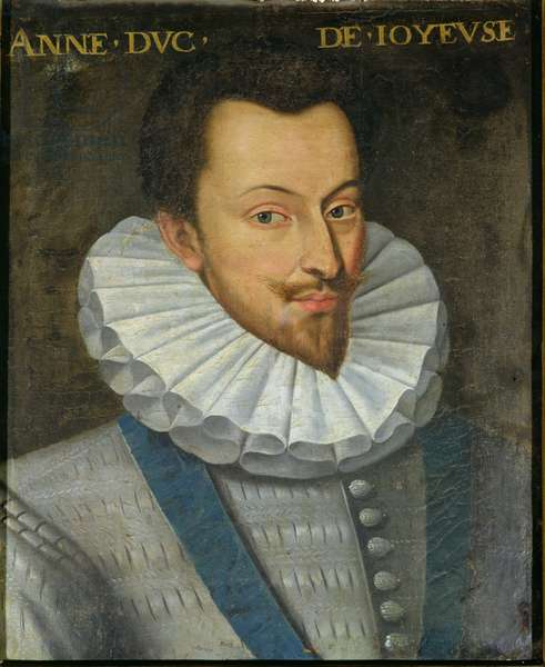 Portrait of Anne (1561-87) Duke of Joyeuse, 1617-38 (oil on canvas)