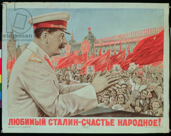 To Our Dear Stalin, the Nation, 1949 (litho)