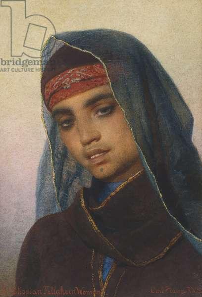 An Ethiopian Fellaheen Woman (w/c on paper)