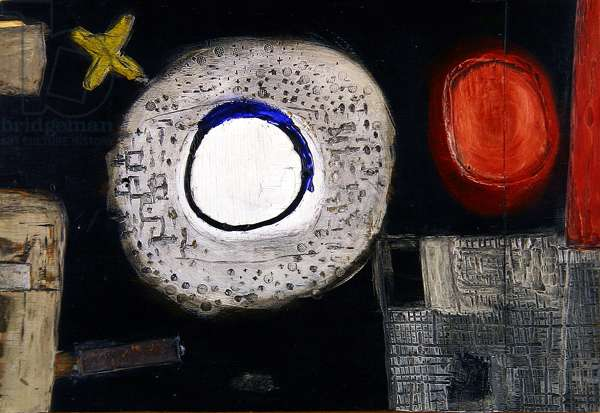 Relief II, 1961 (wood & paint on plywood)