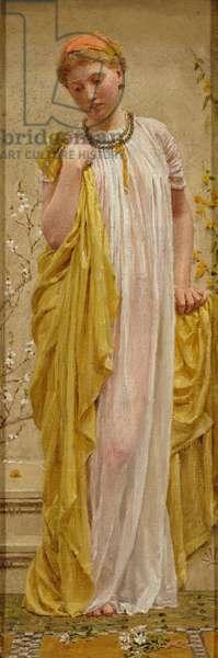 Anemones, c.1880 (oil on canvas)