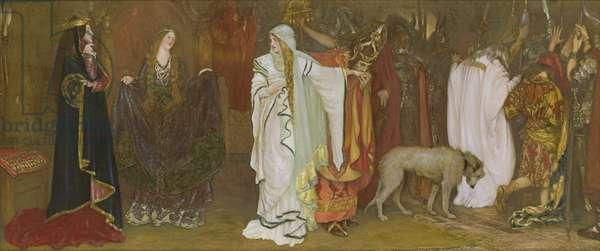 King Lear, Act I, Scene I, Cordelia's farewell, 1898
