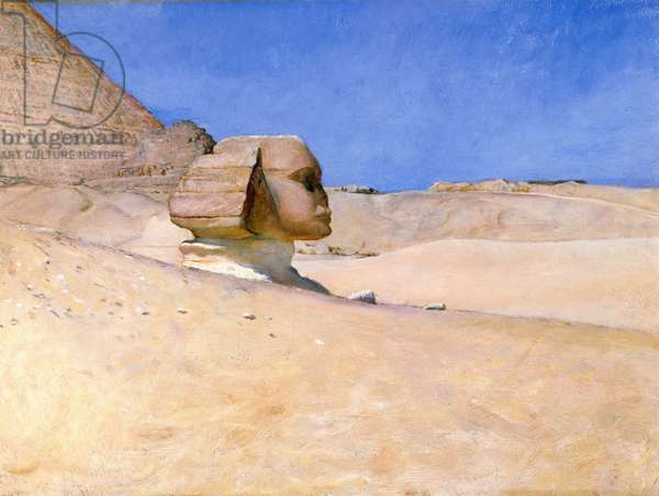 The Sphinx at Midday in Summer, c.1885 (oil on board)