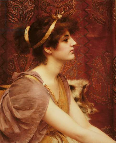 A Classical Beauty, 1892 (oil on canvas)