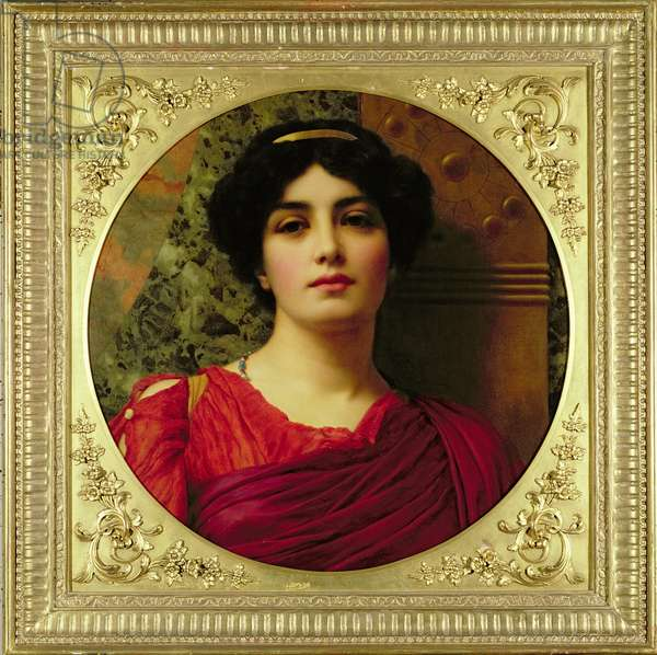 Sappho, 1903 (oil on canvas)