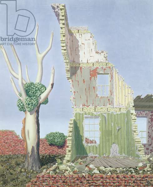 The Naked Tree, 1938 (tempera on panel)
