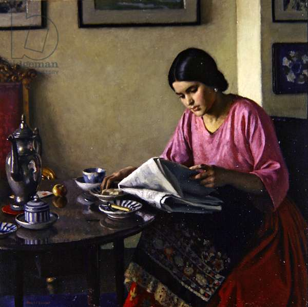 The Breakfast Table, 1927 (oil on canvas)