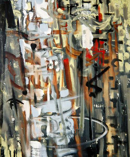 Journey after Rain, 1957 (oil on canvas)