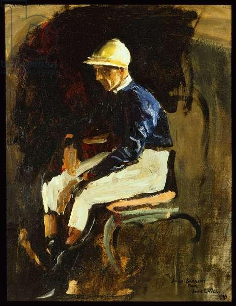 Joe Childs, Rothschild's Jockey, 1923 (oil on canvas)