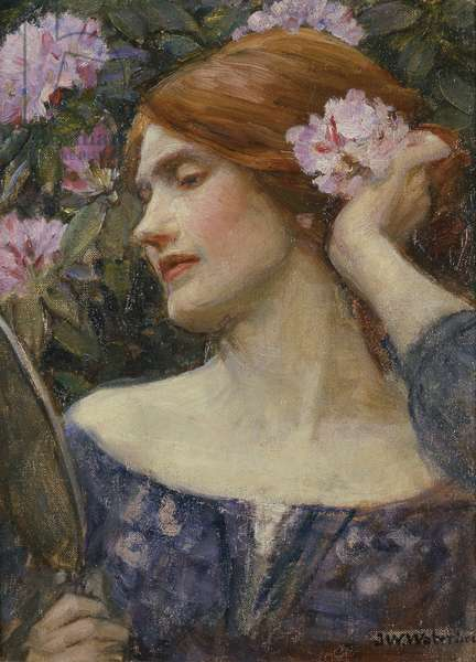 Vanity, c.1910 (oil on canvas)