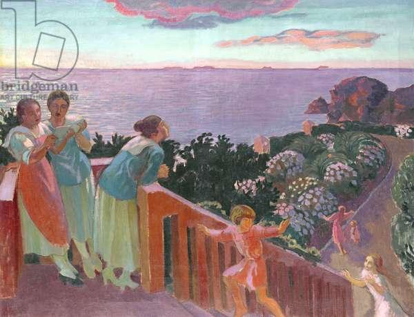 Balcon a Silencio, 1918 (oil on canvas)