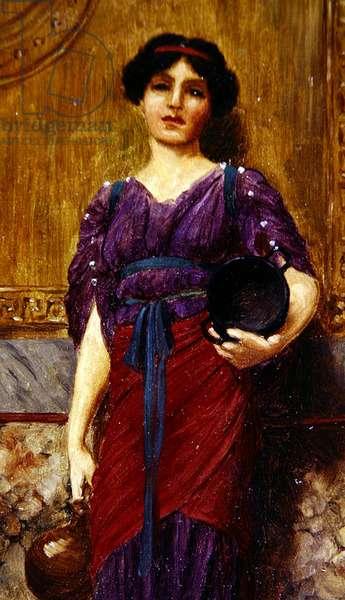 Female Figure, 1907 (oil on board)
