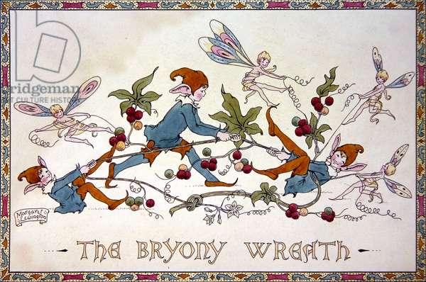 The Bryony Wreath, c.1925 (pen & w/c on paper)