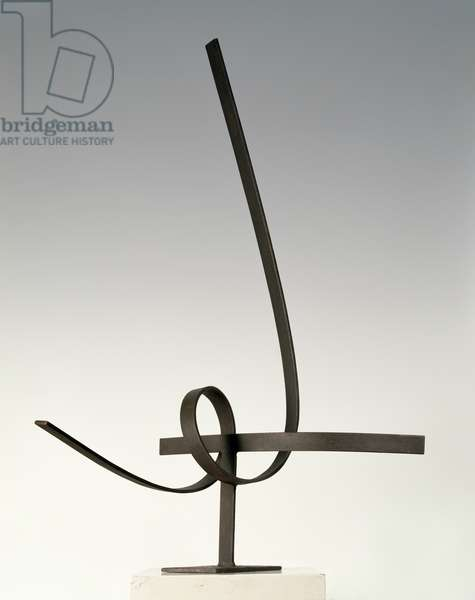 Spiral and Curve, Opus 46, 1957 (bronzed steel) (see also 349134)