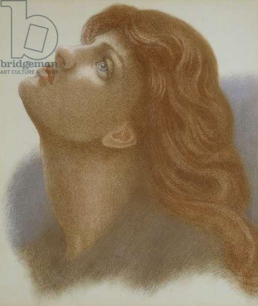 Astarte Syriaca (Venus Astarte) 1875 (coloured chalks on paper)