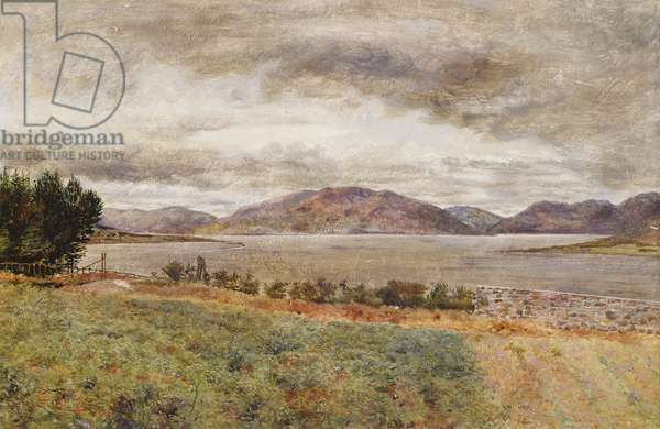 Loch Strivan (oil on board)