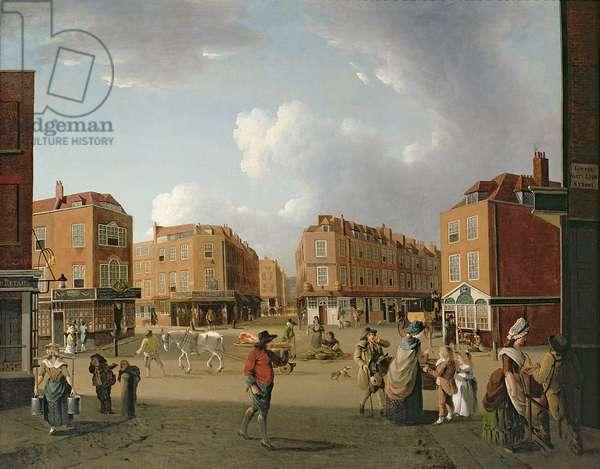 Seven Dials, Covent Garden (oil on canvas)