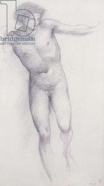 Perseus - Rock of Doom (chalk on paper)