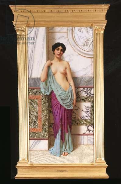 In the Tepidarium, 1909 (oil on canvas)