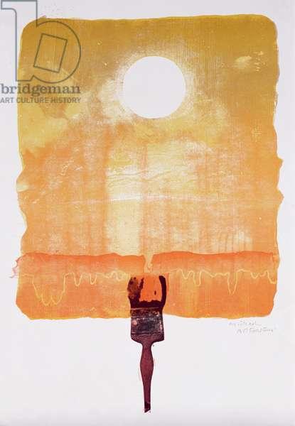 Sun (mixed media)