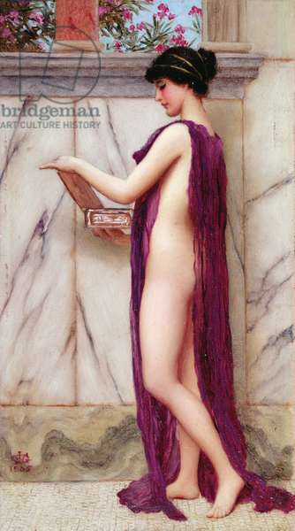 The Jewel Box (A Precious Gift), 1905 (oil on panel)