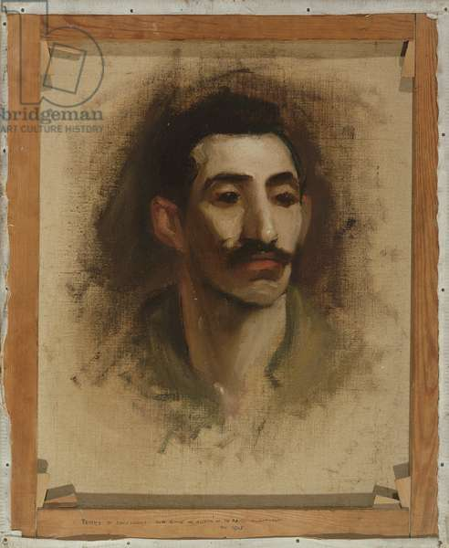 Head of a man, 1905 (oil on canvas)