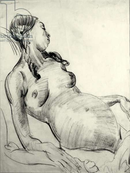 Maternity II (pencil on paper)