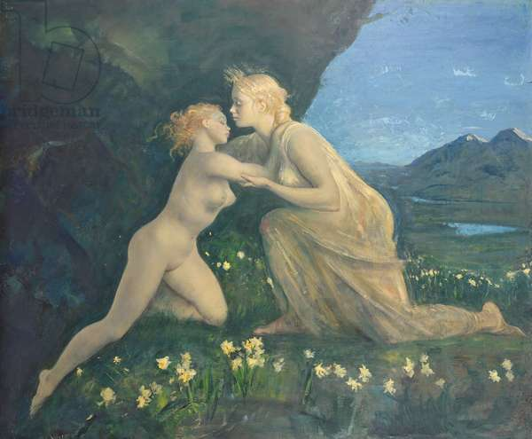 Return of Persephone (oil on canvas)
