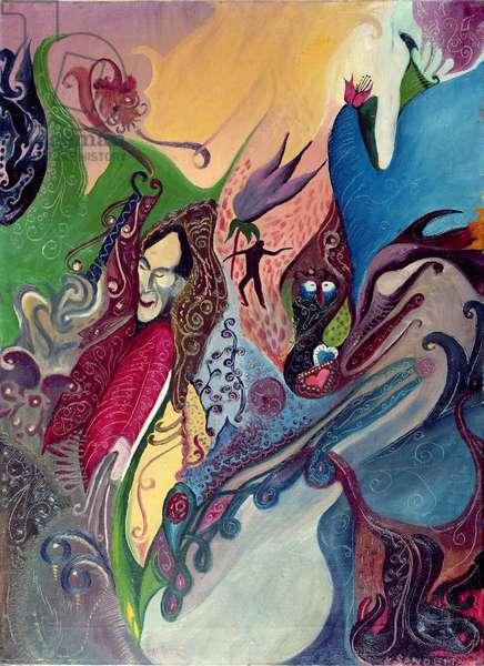Phantasy (oil on canvas)