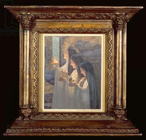 Three Wise Virgins, 1907 (w/c on paper)