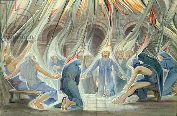 Pentecost (w/c on paper)