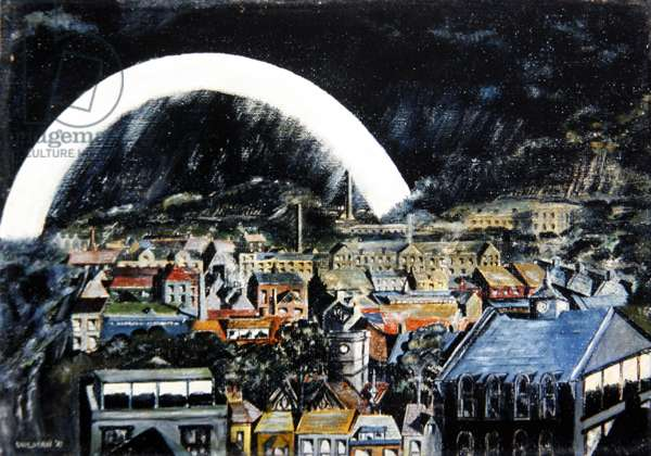 City View, 1932 (oil on canvas)